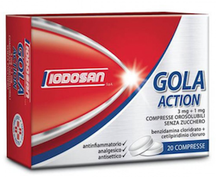 GOLACTION 20 compresse orosolubili