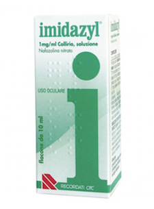 IMIDAZYL COLLIRIO 1 FLACONE 10ml